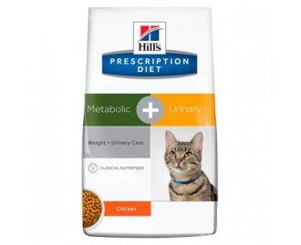 Hill's Prescription Diet Feline Metabolic + Urinary crocchette per gatti