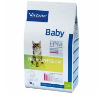 Virbac Baby Veterinary HPM Pre Neutered Cat crocchette per gattini