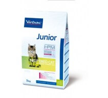 Virbac Junior Veterinary HPM Pre Neutered Cat crocchette per gatti giovani