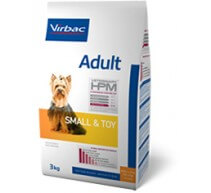 Virbac Adult Veterinary HPM Small & Toy crocchette per cani di taglia piccola e toy