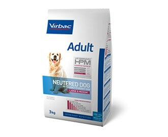 Virbac Adult Veterinary HPM Neutered Dog Large & Medium crocchette per cani di taglia grande e media