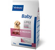 Virbac Baby Veterinary HPM Large & Medium crocchette per cuccioli di taglia grande e media