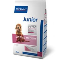 Virbac Junior Veterinary HPM Special Medium crocchette per cani giovani di taglia media