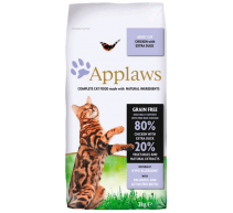 Applaws Cat Adult Grain Free crocchette per gatti con pollo e anatra