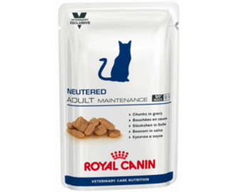 Royal Canin Neutered Adult Maintenance Veterinary Diet cibo umido per gatti