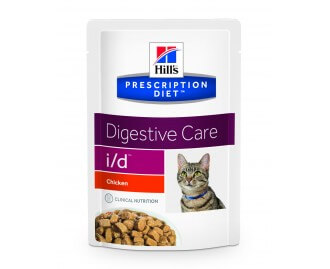Hill's Prescription Diet I/D Feline Digestive Care cibo umido per gatti in bustina