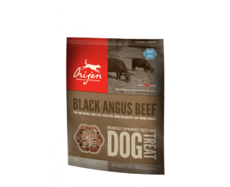 Orijen Black Angus Beef Dog Treat snack per cani
