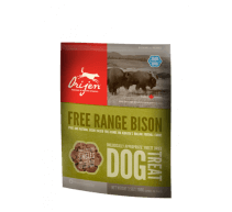Orijen Free Range Bison Dog Treat snack per cani