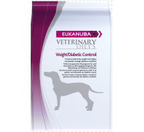 Eukanuba Adult Veterinary Diets Weight/Diabetic Control crocchette per cani