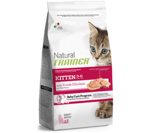Natural Trainer Kitten (1-6) Baby Care Program crocchette per gattini