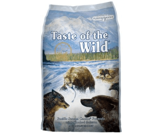 Taste of the Wild Pacific Stream Canine Formula crocchette per cani