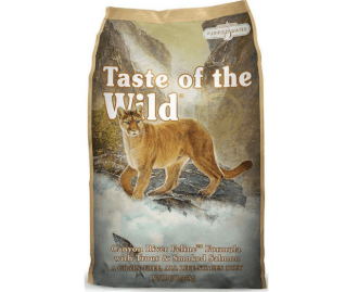 Taste of the Wild Canyon River Feline Formula crocchette per gatti