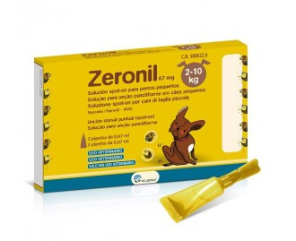 Zeronil antiparassitario spot-on per cani