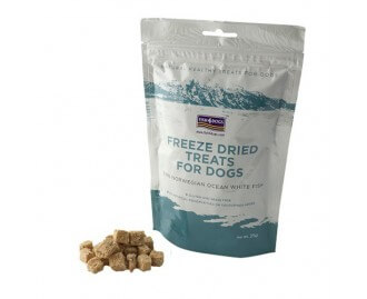 Fish4dogs Freeze Dried Treats snack per cani