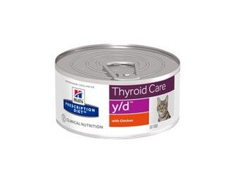 Hill's Prescription Diet Y/D Feline Thyroid Care cibo umido per gatti