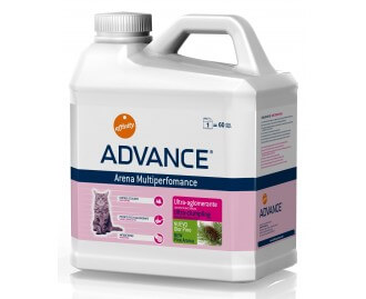 Advance Arena Multiperformance lettiera per gatti ultra-agglomerante al profumo di pino