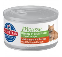 Hill's Science Plan Kitten 1° Nutrition mousse per gattini