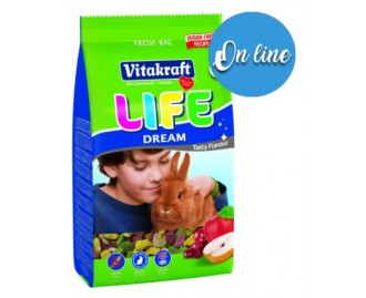 Vitakraft Life Dream mangime per conigli nani