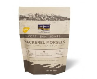 Fish4dogs Mackerel Morsels - Coat/ Skin/Joint snack per cani