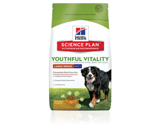 Hill's SP Canine Adult+7 Youthful Vitality Razas Grandes con Pollo y Arroz