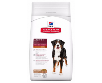 Hill's Science Plan Adult Advanced Fitness Large Breed crocchette per cani di taglia grande con agnello e riso