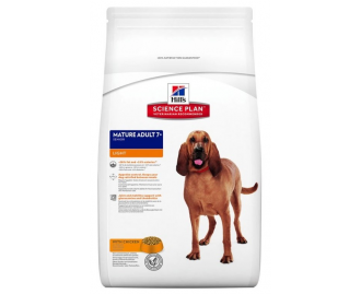Hill's Science Plan Mature Adult 7+ Light Medium crocchette per cani di taglia media