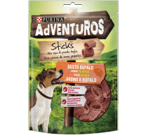 Aventuros Mini Sticks Búfalo snacks para perros