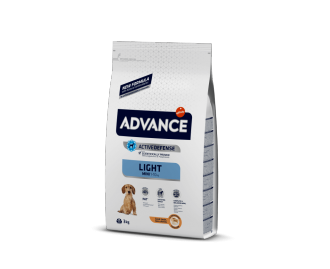 Advance Mini Light crocchette light per cani di taglia piccola