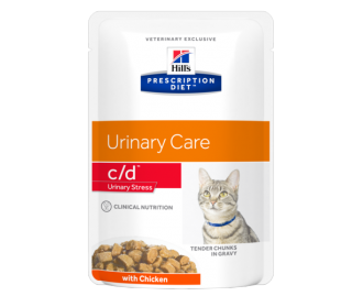 Hill's Prescription Diet C/D Feline Urinary Stress cibo umido per gatti