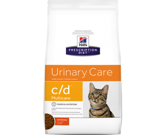 Hill's Prescription Diet C/D Feline Urinary Tract Health crocchette per gatti con pollo