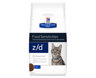 Hill's Prescription Diet Z/D Feline Skin/Food Sensitivities crocchette per gatti