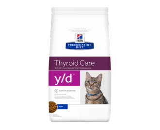 Hill's Prescription Diet Y/D Feline Thyroid Care crocchette per gatti