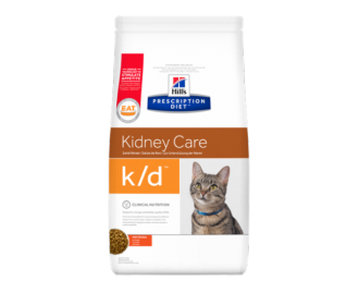 Hill's Prescription Diet K/D Feline Kidney Care crocchette per gatti