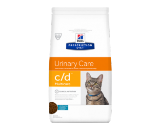 Hill's Prescription Diet C/D Feline Urinary Tract Health crocchette per gatti con pesce oceanico
