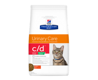 Hill's Prescription Diet C/D Feline Urinary Stress Reuced Calorie crocchette per gatti