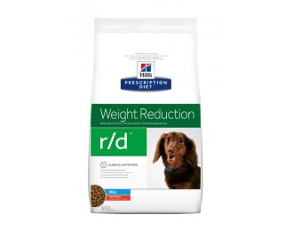 Hill's Prescription Diet R/D Canine Weight Loss/Low Calorie Mini crocchette per cani