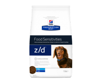 Hill's Prescription Diet Z/D Canine Mini Allergy & Skin Care crocchette per cani di taglia piccola