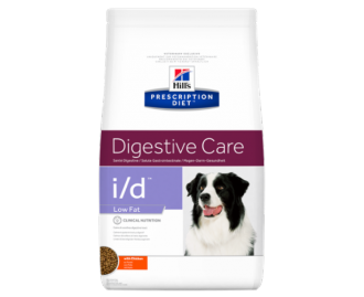 Hill's Prescription Diet I/D Canine Digestive Care Low Fat crocchette per cani