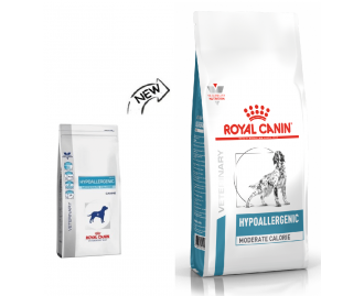 Royal Canin Hypoallergenic HME 23 Moderate Calorie Veterinary Diet crocchette per cani