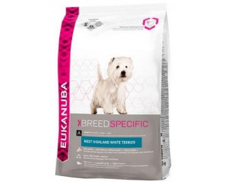 Eukanuba Adult Breed Specific West Highland White Terrier crocchette per cani