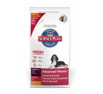 Hill's Science Plan Adult Advanced Fitness Medium crocchette per cani di taglia media con pollo