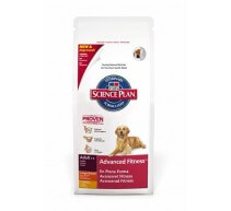 Hill's Science Plan Adult Advanced Fitness Large Breed crocchette per cani di taglia grande con pollo