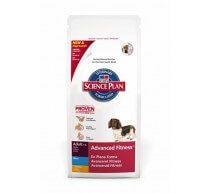 Hill's Science Plan Adult Advanced Fitness Mini crocchette per cani con pollo