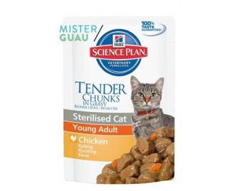 Hill's Science Plan Adult Sterilised cibo umido per gatti con pollo