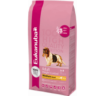 Eukanuba Adult Weight Control Medium Breed crocchette per cani di taglia media