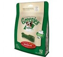Greenies Regular snack per l'igiene dentale dei cani. Formato individuale e multipack