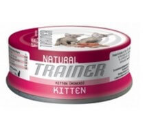 Natural Trainer Kitten cibo umido per gattini. Pack 24 unità da 85g