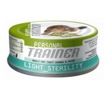 Natural Trainer Adult Light Sterility cibo umido per gatti. Pack 24 unità da 85g
