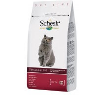 Schesir Adult Sterilied & Light crocchette per gatti con pollo