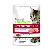 Natural Trainer Kitten&Young Baby Care program bocconcini per gattini